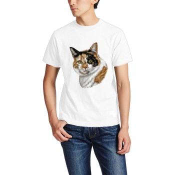 Calico Cat Custom Men's T-shirt