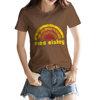 Tatooine Desert Custom Women's T-shirt Brown