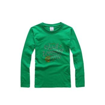 southern attitude shirts The Wall Of Winnipeg Round Neck Long Sleeve T-shirt Bright Grass Green