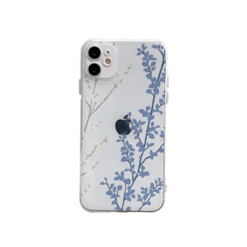 Smooth Custom Transparent Phone Case For Iphone 12