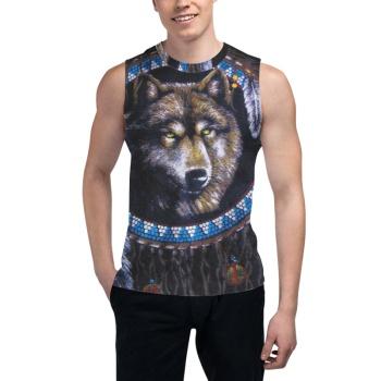 West Siberian Laik Custom Men's Sleeveless T-shirt