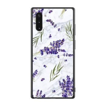 Lavender Flowers Leafed Custom Phone Case For Samsung