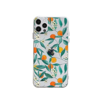 Apricot leaves Custom Phone Case For Iphone