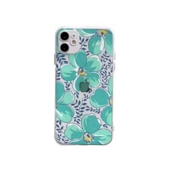Lotus Custom Transparent Phone Case For Iphone 12 Mini