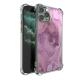Purple ripple Burga Cases Custom Transparent Phone Case for iPhone 11 Pro Max