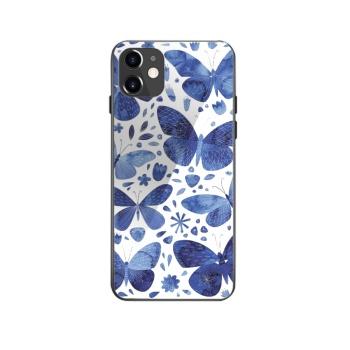 Blue Butterflies Custom Phone Case For Iphone