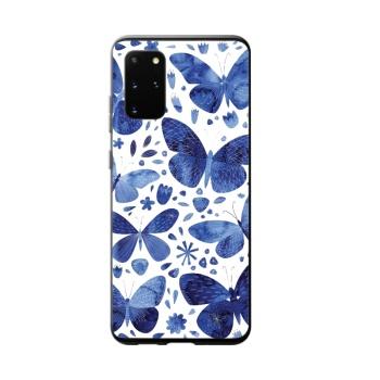 Blue Butterflies Custom Phone Case For Samsung