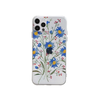 Blue Desert Daisies Custom Phone Case For Iphone
