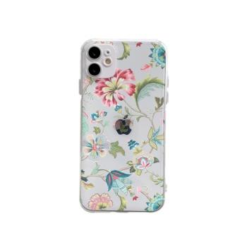 Flower ya Custom Transparent Phone Case For Iphone