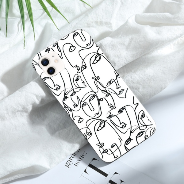 burga phone cases Eye Candy Custom Liquid Silicone Phone Case for iPhone 12 Mini