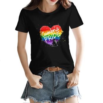 Love watercolor Custom Women's T-shirt