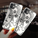 burga phone cases Female Art Custom Toughened Phone Case for iPhone 12 Mini