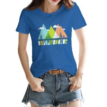 Wander Custom Women's T-shirt
