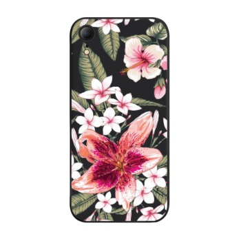 Pink lily Custom Phone Case For Iphone