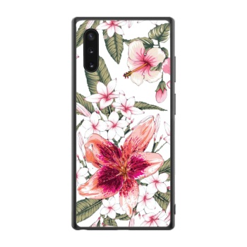 Pink lily Custom Phone Case For Samsung