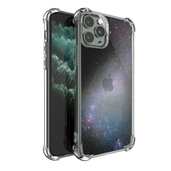 burga phone cases Stargazing Wolf Custom Transparent Phone Case for iPhone 11 Pro Max