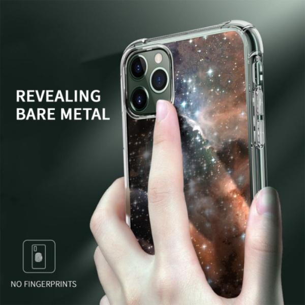 burga phone cases Mars Custom Transparent Phone Case for iPhone 11 Pro Max