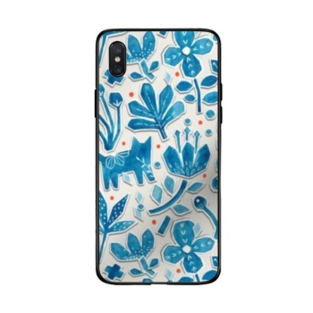 Flower cat Phone Case For Iphone