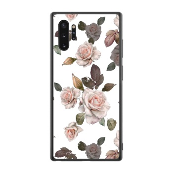 White roses Custom Phone Case For Samsung