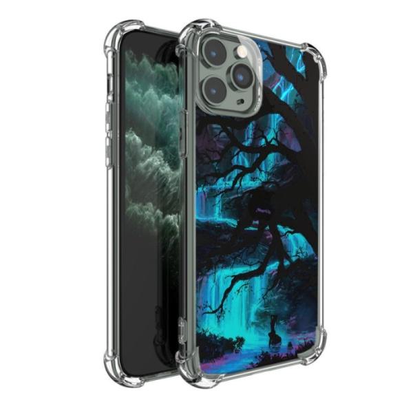 burga phone cases Life of a warrior Custom Transparent Phone Case for iPhone 11 Pro Max