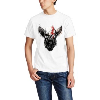 God of War Skull Custom Men's T-shirt