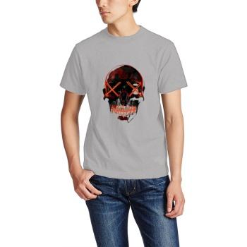 Halloween Skull Custom Men's T-shirt