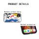 burga phone cases THTF Custom Liquid Silicone Phone Case for iPhone 12 Pro