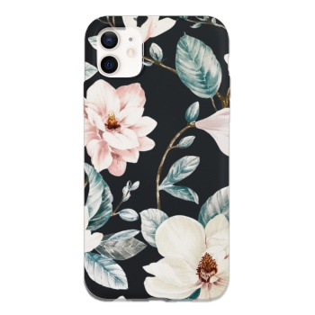 Magnolia Flowers Custom Phone Case For Iphone
