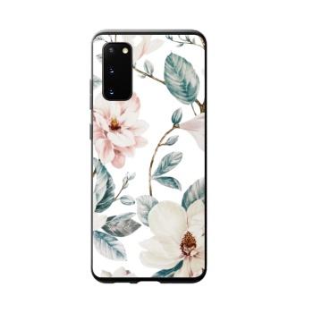 Magnolia Flowers Custom Phone Case For Samsung