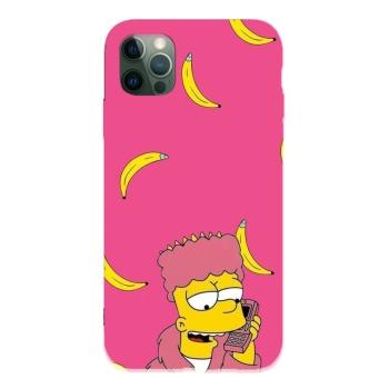 Simpson 10 Custom Liquid Silicone Phone Case For Iphone 12 Pro Max
