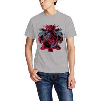 Crest Of The Dragon Custom Men's T-shirt