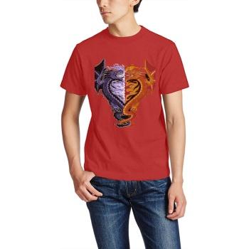 Ice & Fire Custom Men's T-shirt
