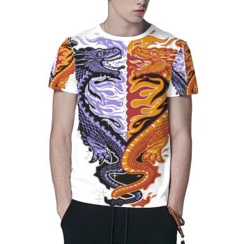 Ice & Fire Custom All Surface  Men's T-shirt