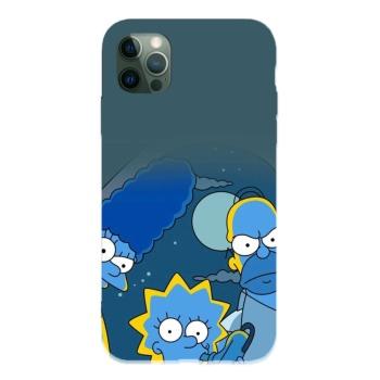 Simpsons 13 Custom Liquid Silicone Phone Case For Iphone 12 Pro Max