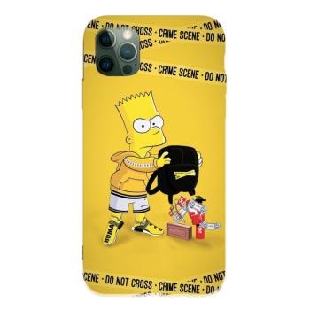 Simpsons 14 Custom Liquid Silicone Phone Case For Iphone 12 Pro Max