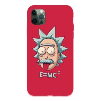 Einstein Custom Liquid Silicone Phone Case For Iphone 12 Pro Max