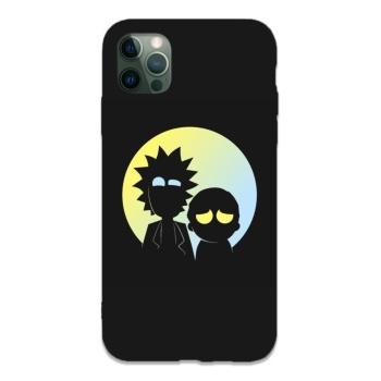 Rick Custom Liquid Silicone Phone Case For Iphone 12 Pro Max