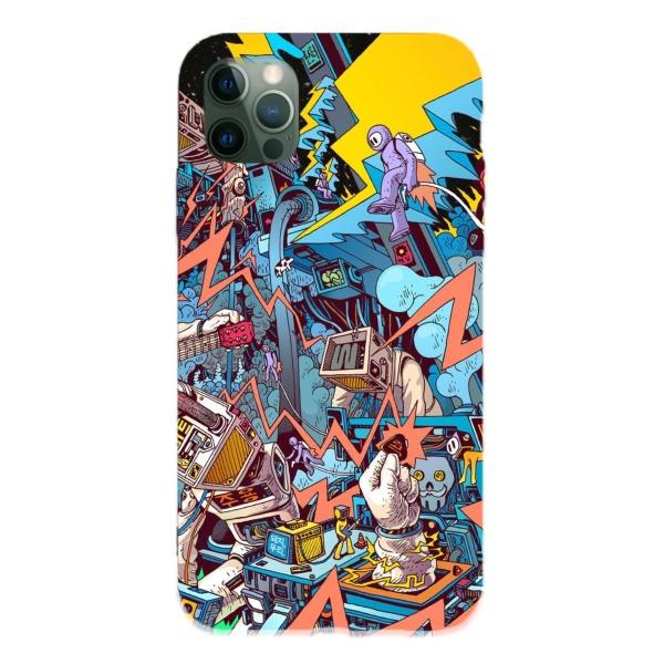 Digital creativity Custom Liquid Silicone Phone Case for iPhone 12 Pro Max