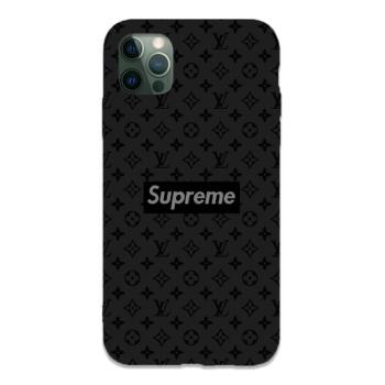 Supreme Custom Liquid Silicone Phone Case For Iphone 12 Pro Max