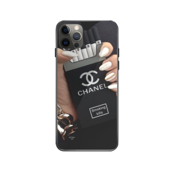 CHANEL Custom Toughened Phone Case For Iphone 12 Pro Max