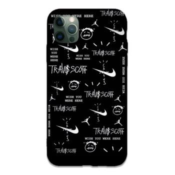 Travis Scott Custom Liquid Silicone Phone Case For Iphone 12 Pro Max