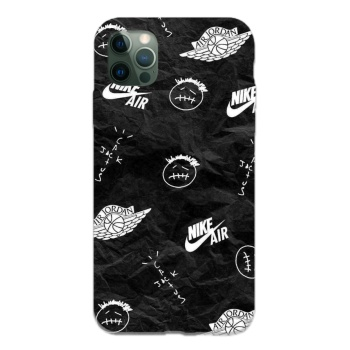Travis Scott 1 Custom Liquid Silicone Phone Case For Iphone 12 Pro