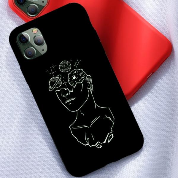 Tumblr Custom Liquid Silicone Phone Case for iPhone 12 Pro Max