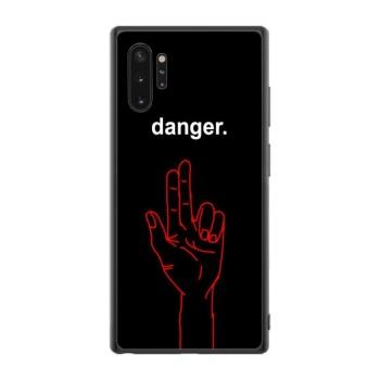 Danger Custom Phone Case For Samsung Galaxy Note10+