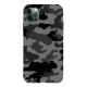 Camouflage Custom Liquid Silicone Phone Case for iPhone 12 Pro Max