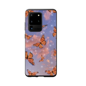 Yellow Butterfly Custom Phone Case For Samsung Galaxy S20 Ultra