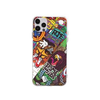 ROME Custom Transparent Phone Case For Iphone 12 Pro Max