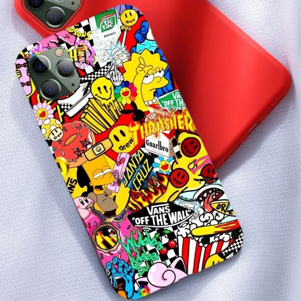 THASHER Custom Liquid Silicone Phone Case for iPhone 12 Pro Max
