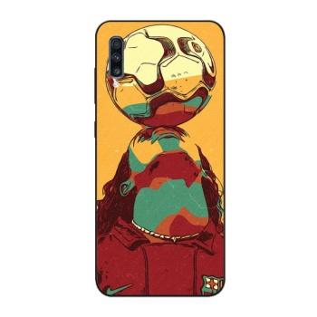 Ronaldinho Wall Custom Phone Case For Samsung