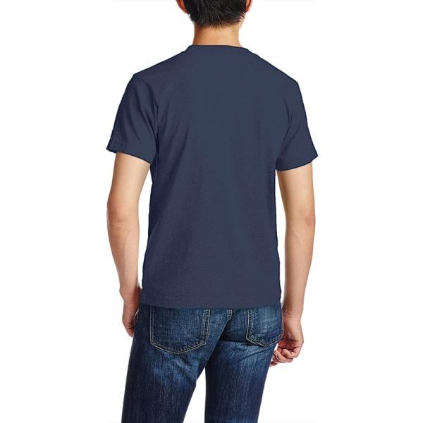 Eagle in Flowing Custom Men's Crew-Neckone T-shirt Navy Blue